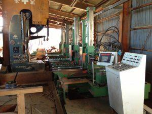 デジタル式製材機