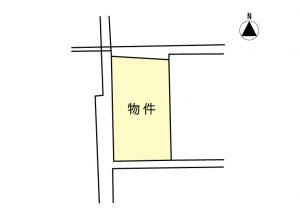 売地02-02(一般媒介)伊那市山寺 883.3万円
