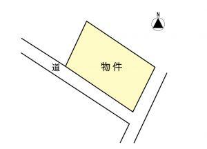 売地03-05(一般媒介)南箕輪村南原 768万円