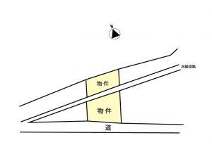 売地04-01(一般媒介)箕輪町大字中箕輪一の宮 739.5万円